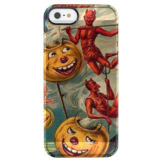 Flying Devils Jack O' Lantern Smoke Clear iPhone SE/5/5s Case