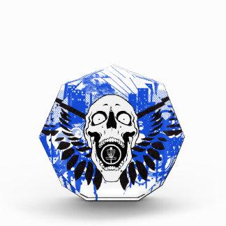 Flying Disc Golf Skull Award