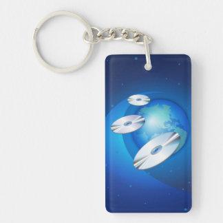 Flying Disc Keychain