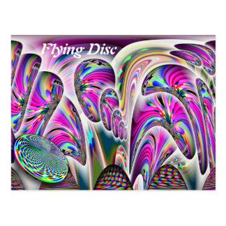 Flying Disc Postcard