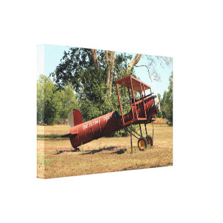 Flying doc! aircraft, Australia Canvas Print