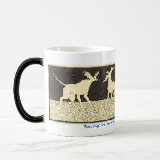 Flying Dogs 11 Oz Magic Heat Color-Changing Coffee Mug