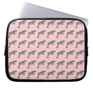 Flying Dolphins Computer Sleeve
