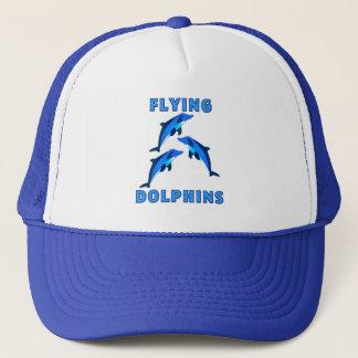 Flying Dolphins Trucker Hat