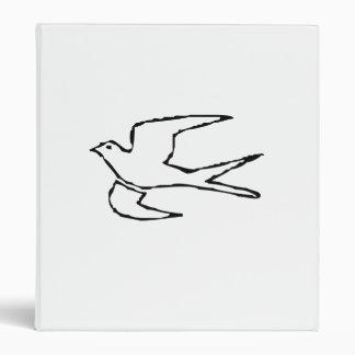 Flying Dove Vinyl Binder
