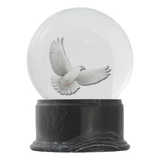 Flying Dove of Peace Snow Globe
