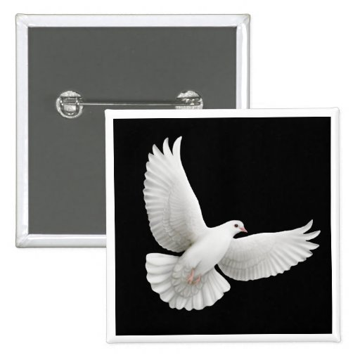 Flying Dove Pin