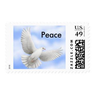 Flying Dove Postage Stamp