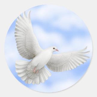 Flying Dove Sticker