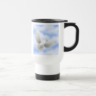 Flying Dove Travel Mug