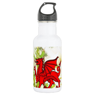 Flying Dragon confidence and success Water Bottle