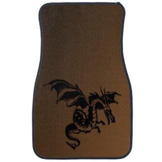 Flying Dragon Floor Mat