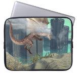 Flying dragon laptop sleeve