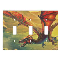 Flying Dragon Light Switch Cover