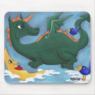 Flying Dragon Mouse Pad