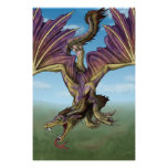 Flying dragon posters