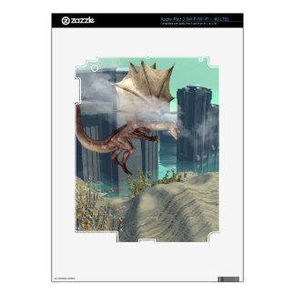 Flying dragon decal for iPad 3