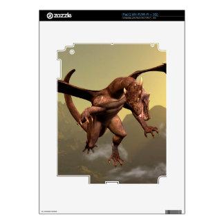 Flying dragon decal for iPad 2