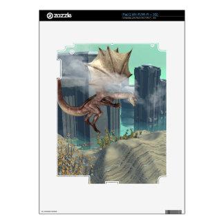 Flying dragon iPad 2 skins