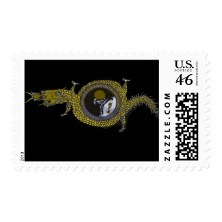 flying dragon stamps