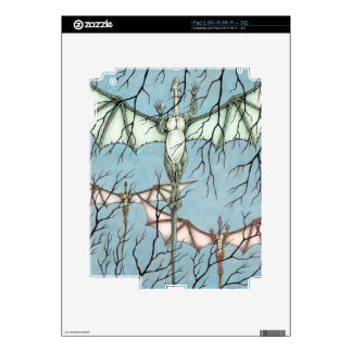 Flying Dragons iPad 2 Decal