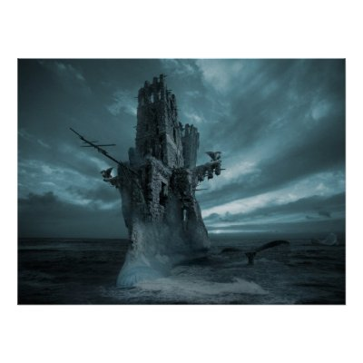 Favorite Surreal Posters - Flying Dutchman Phantom Posters