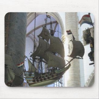 Flying Dutchman Sailing Ship Mousepad