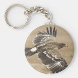 Flying Eagle Bird Keychain