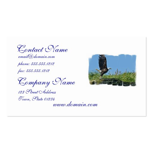 Flying Eagle Business Cards
