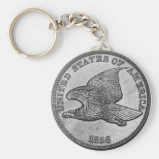 Flying Eagle Cent Obverse Keychain