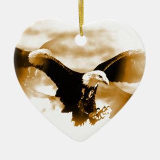 Flying Eagle Ceramic Ornament