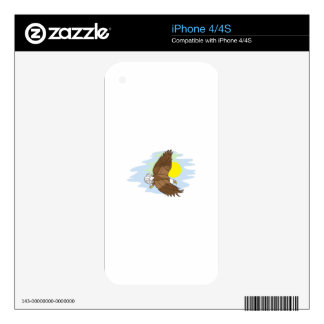 Flying Eagle Decal For The iPhone 4