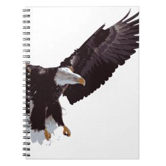Flying Eagle Spiral Notebooks