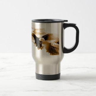 Flying Eagle Travel Mug
