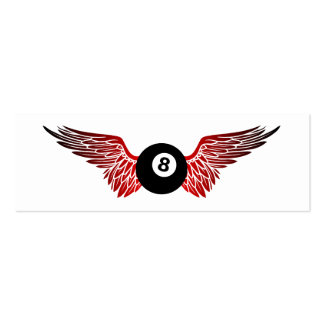 flying eightball business card template