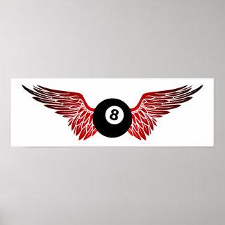 flying eightball print