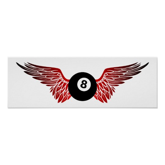 flying eightball poster