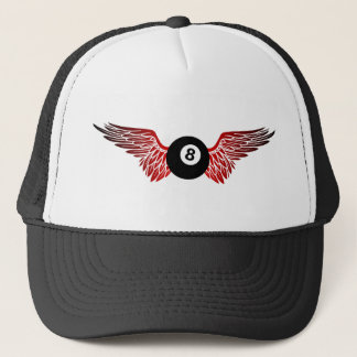 flying eightball trucker hat