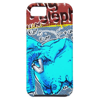 flying elephant color iPhone SE/5/5s case
