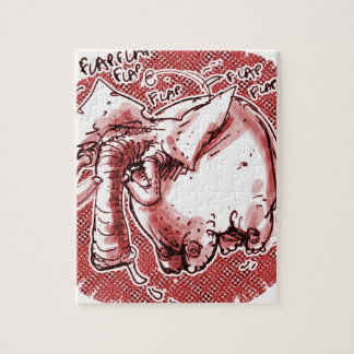 flying_elephant_fit_red jigsaw puzzle