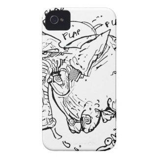 flying elephant iPhone 4 Case-Mate case