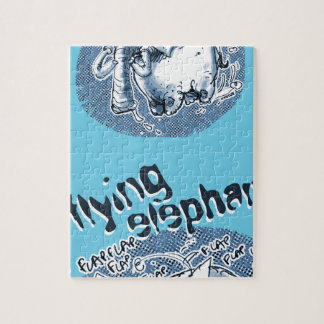 flying elephant jigsaw puzzle
