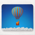 Flying Elephant Mouse Pads