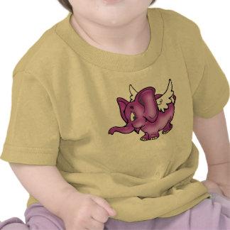 Flying Elephant T Shirts