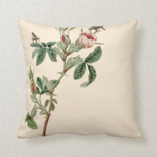 Flying elephants and rose Pillow