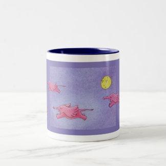 Flying Elephants Mug