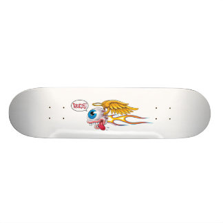 Flying Eyeball Angel (Wonk!) #1 Skateboard Deck