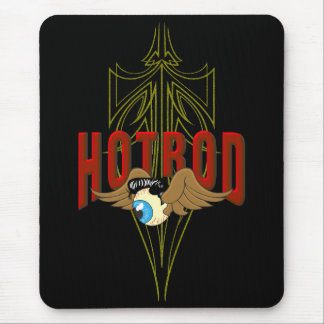 Flying Eyeball Hot Rod Mouse Pad