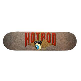 Flying Eyeball Hot Rod Skateboard