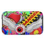 Flying eyeball phone case tough iPhone 3 cover